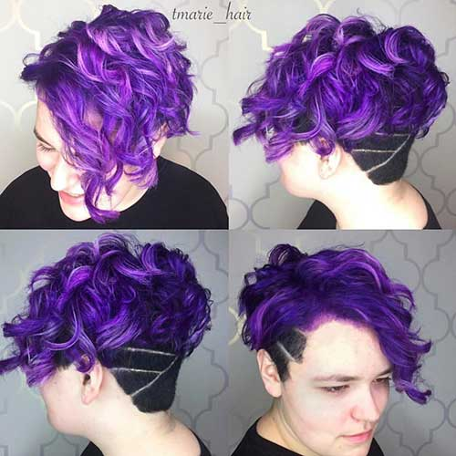 Short Haircuts for Curly Hair - 12