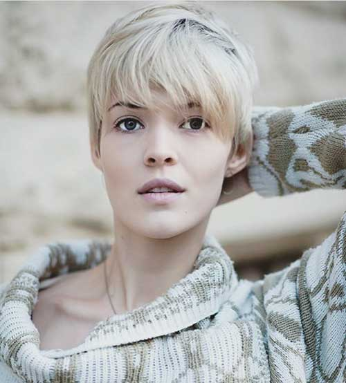 Short Hairstyles For Oval Hairstyles - 12