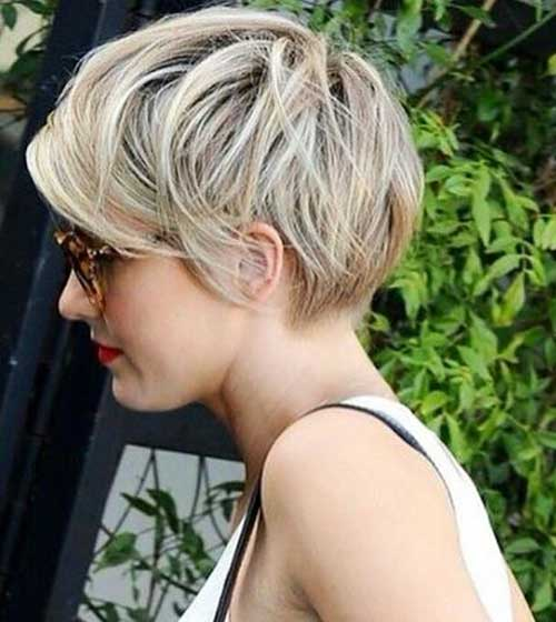 Short Layered Hairstyles - 12