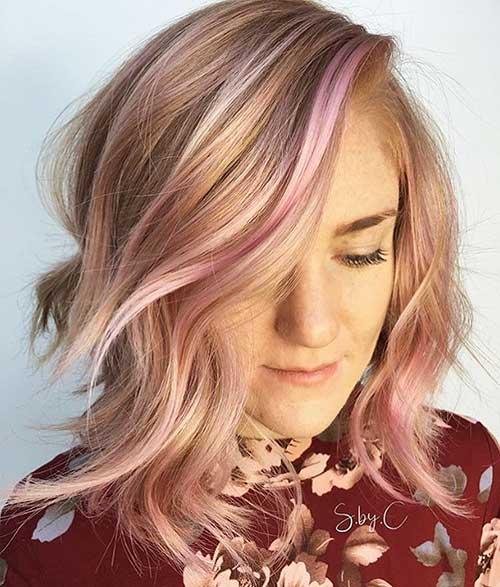 Short Pink Hair - 12