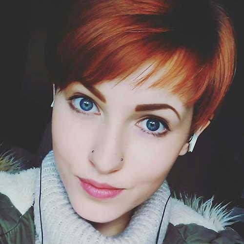 Short Red Hair - 12