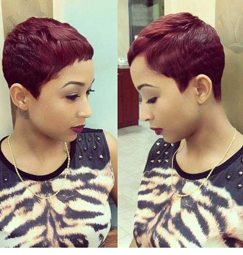20 Best Red Pixie Hair Short Hairstyles 2017 2018