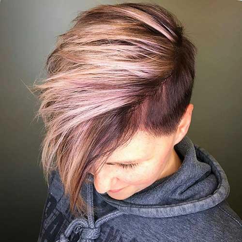 Pink Short Hair - 13