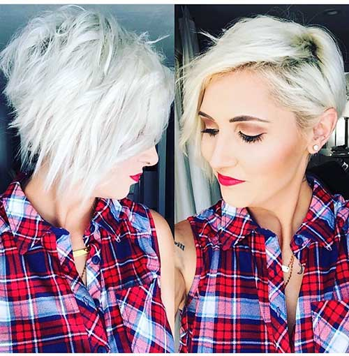 Short Asymmetrical Haircuts 2017 - 13