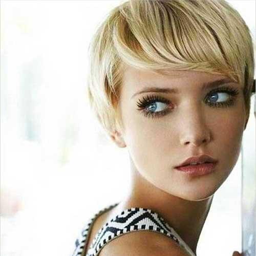 Short Blonde Hair - 13