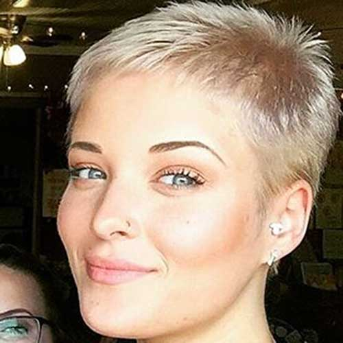 Short Blonde Hairstyles 2017 - 13