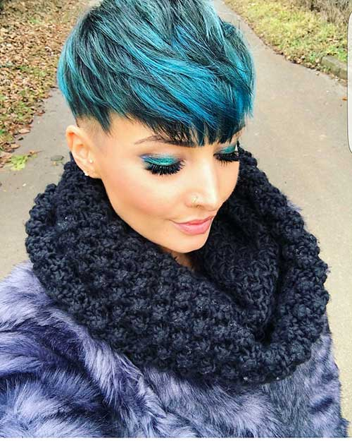Short Blue Hair 2017 - 13