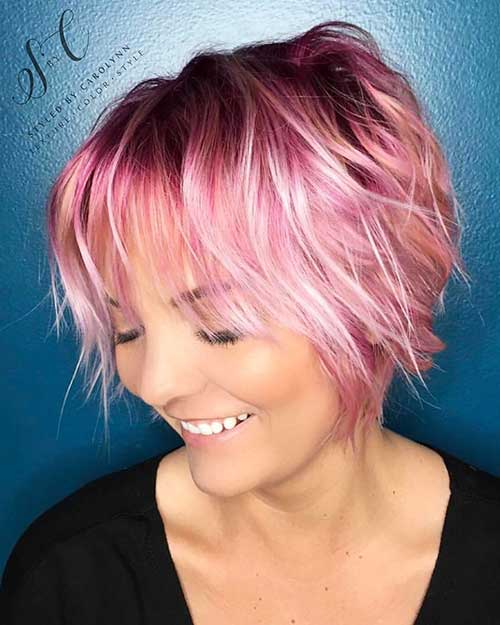 Short Choppy Hairstyles 2017 - 13