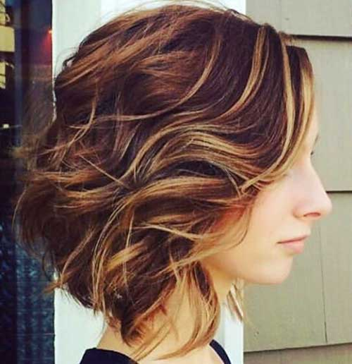 Short Curly Hairstyles for Women 2017 - 13