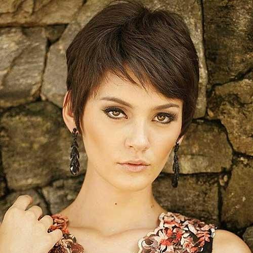 Short Hair with Bangs - 13
