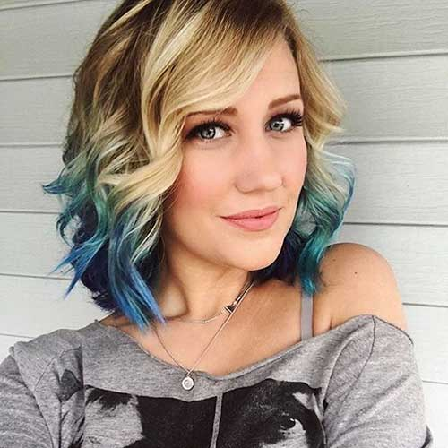 Short Hairstyles For Round Hairstyles - 13