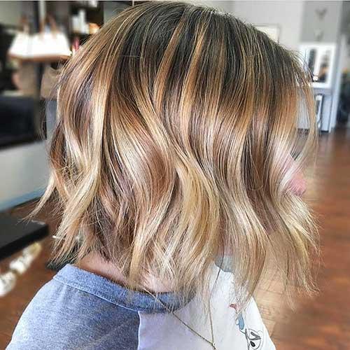 Short Wavy Hair 2017 - 13