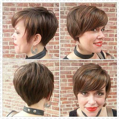 Latest Layered Pixie Cuts You will Love