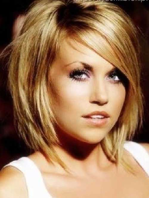 Hairstyles for Short Medium Hair-13