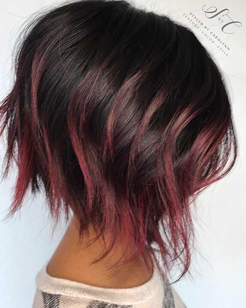 Cool Short Hairstyles for Girls - 14