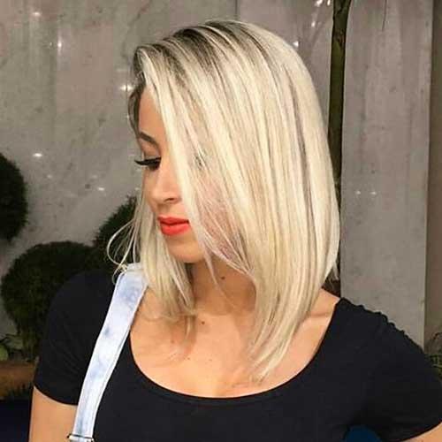 New Short Blonde Hair - 14