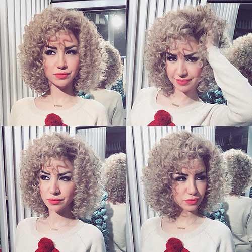 Nice Short Curly Hair - 14