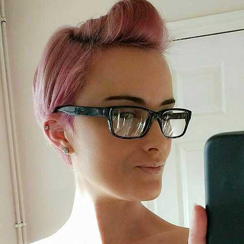 Pink Short Hair - 14