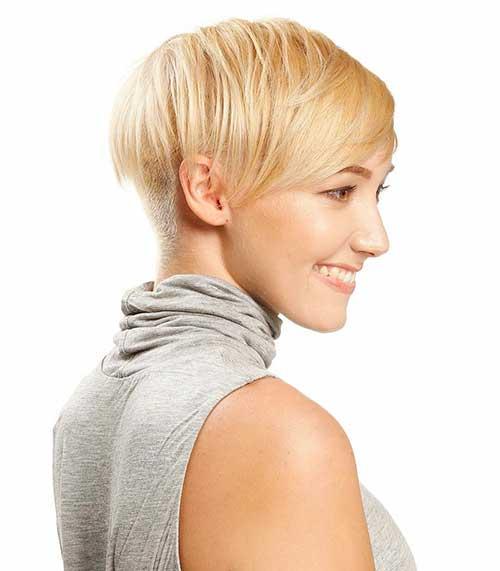 Short Blonde Hair - 14