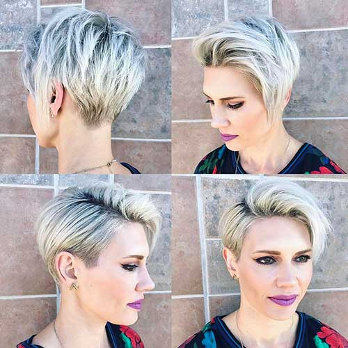 Super Short Layered Hairstyles - 14