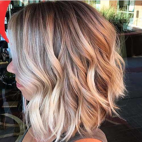 25+ Adorable Short Wavy Hair Ideas