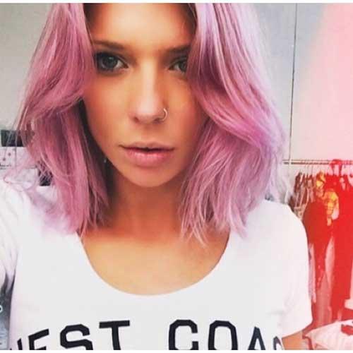 Pink Short Hair - 15