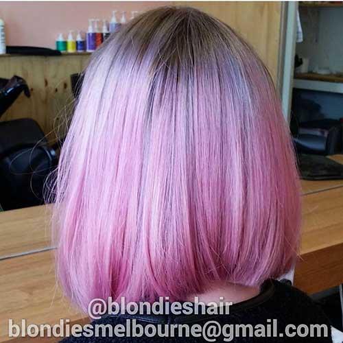 Short Pink Hair - 15