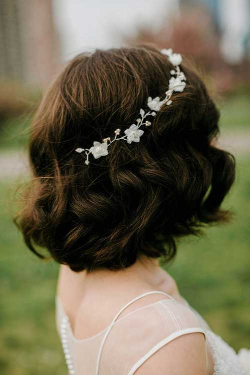 Short Hair for Wedding-15