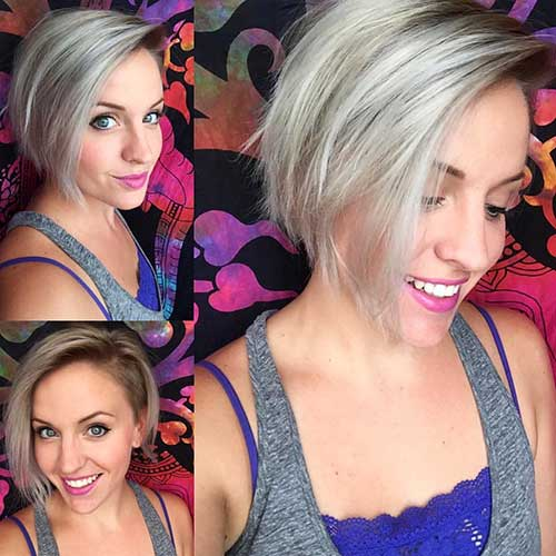 Short Asymmetrical Haircuts - 16
