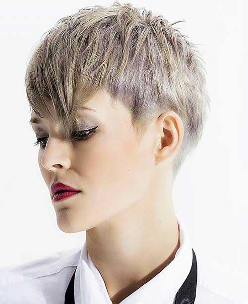 Short Hair with Bangs - 16