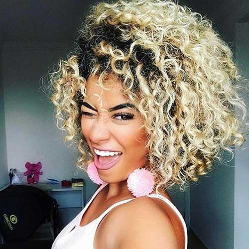 Short Natural Curly Hairstyles - 16