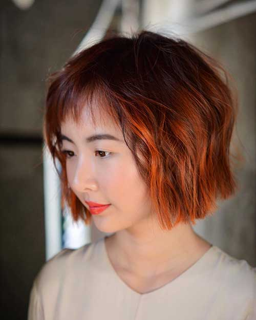 Short Red Hair - 16