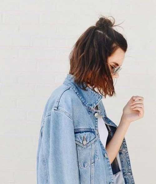 Updos for Short Hairstyles-16