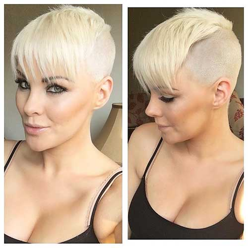 Short Blonde Hair 2017 - 17