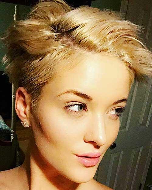 Short Blonde Hair 2017 - 17