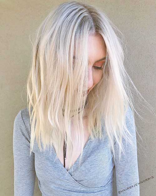 Short Blonde Hairstyles 2017 - 17