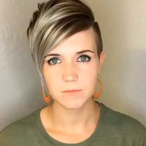 Short Hairstyles For Oval Hairstyles - 17