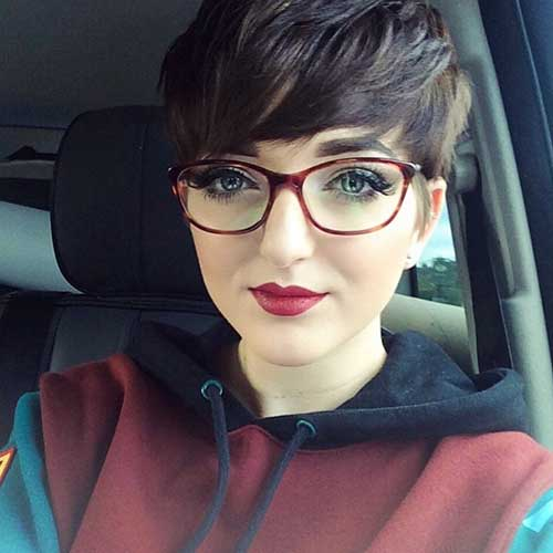 Short Hairstyles For Round Hairstyles - 17