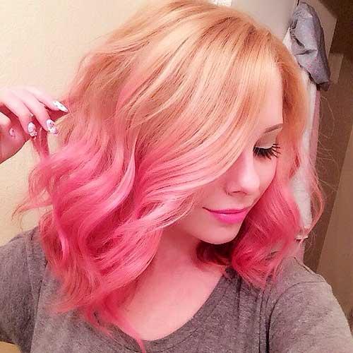 Short Pink Hair - 17