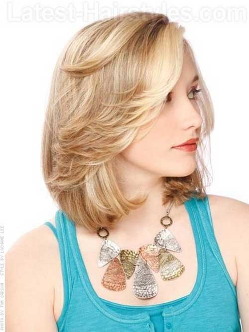 Hairstyles for Short Medium Hair-17