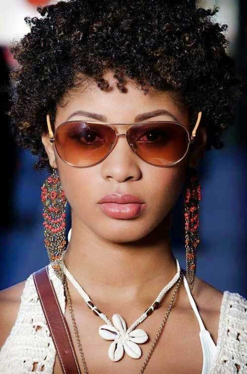 Incredible 25 Short Curly Afro Hairstyles Short Hairstyles 2016 2017 Short Hairstyles For Black Women Fulllsitofus