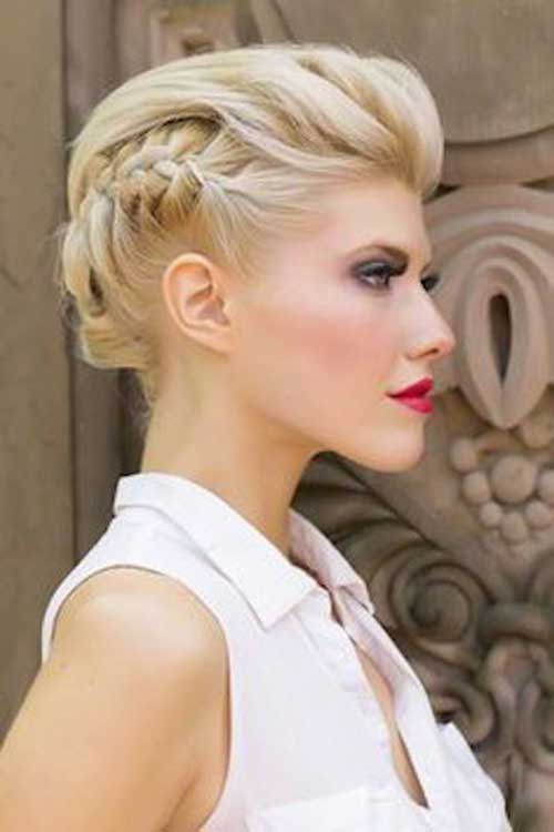 Updos for Short Hairstyles-17