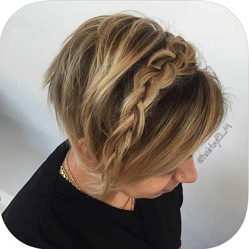 Braids for Short Hair - 18
