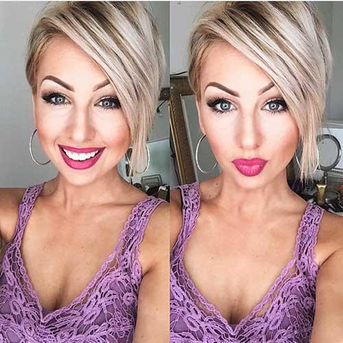 Short Asymmetrical Haircuts - 18