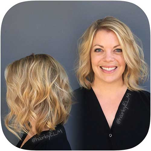 Short Curly Hairstyles for Women - 18