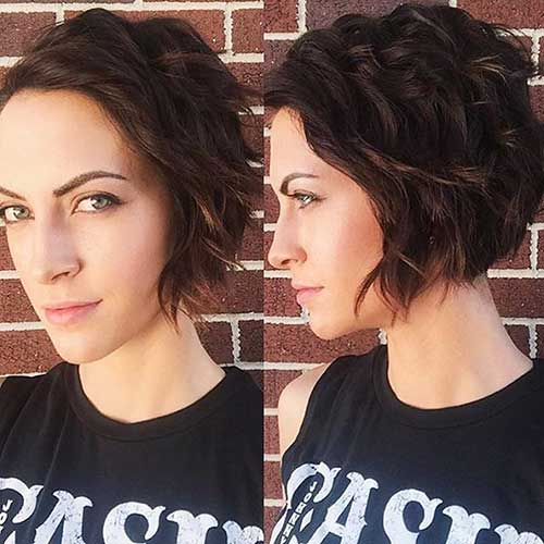 Short Hairstyles For Oval Hairstyles - 18