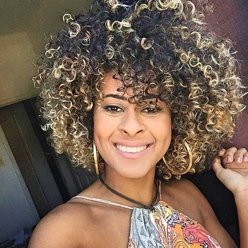 Short Natural Curly Hairstyles - 18