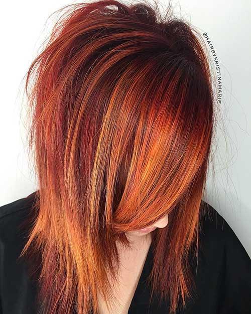 Short Red Hair - 18