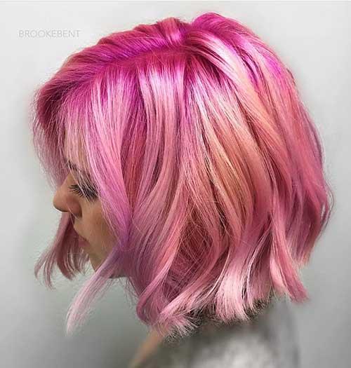 Pink Short Hair - 19