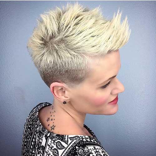 Short Blonde Hair - 19